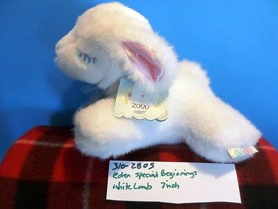 Eden Special Beginnings White Lamb Plush (310-2805)