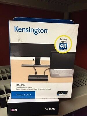 Kensington SD4000 Universal 4K Ultra USB Docking Station (K33983AM)