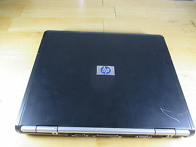 Compaq NC6000 Laptop Black with WiFi for Parts or Repair. No Cord No HDD - AS IS