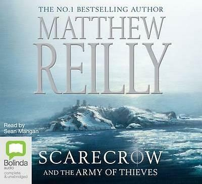 NEW Scarecrow And The Army of Thieves By Matthew Reilly Audio CD Free Shipping