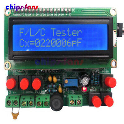 Digital Secohmmeter Capacitance Inductance Meter Frequency Meter DIY Kit CF