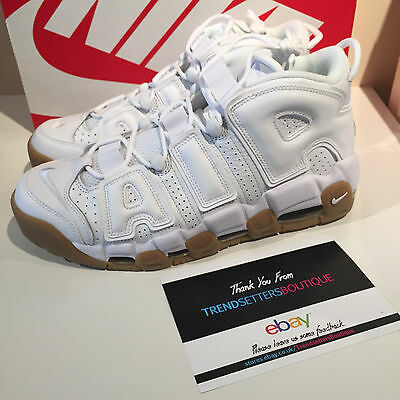 competitive price a57d8 71d3f Nike Air More Uptempo White Us Uk 8 8.5 9 9.5 11 12 414962-103