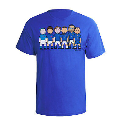 ITALY Football Legends By VIPwees Herren Shirt