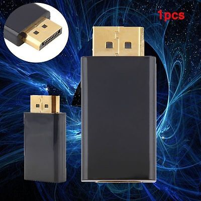 NEW hot Display Port DP Male To HDMI Female Adapter Converter for HDTV TOP FY