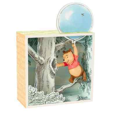 Winnie the Pooh Hundred Acre Wood Shadow Box - Pooh and the Honey Tree Limited