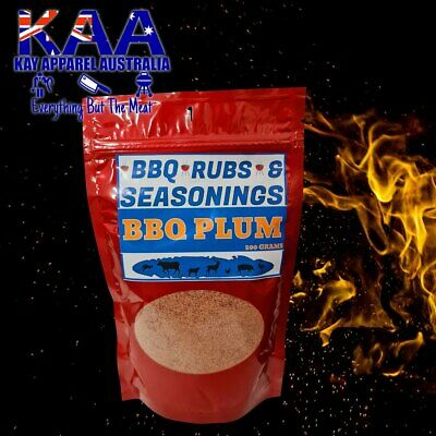 BBQ Plum Meat Glaze 200 Grams, Seasoning/Sprinkle/Coating/Spice/Rub/Marinate/BBQ