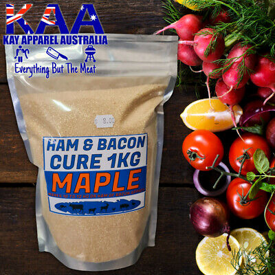 Maple Ham Cure 1KG Ham and Bacon Meat Pumping Cure/Brine/Compound