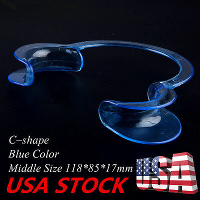 """""""USA""""20pcs C-Type Dental Middle Teeth Whitening Cheek Retractor Mouth Opener HOT"""