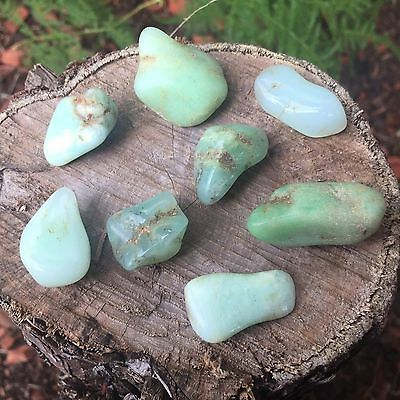 *2* Chrysoprase Natural Healing Tumbled Stone 15mm-20mm