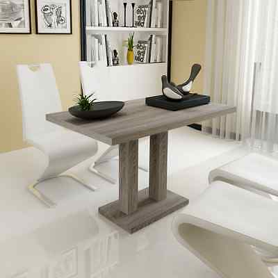 Dining Table MDF Oak-look High Quality Modern Style Kitchen Dining Room