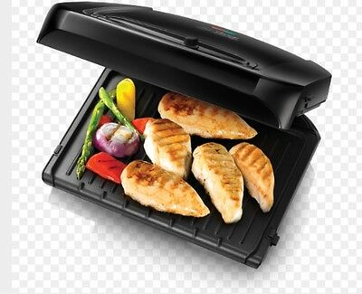 George Foreman 20850 Entertaining Six Portion Grill with Removable Plates