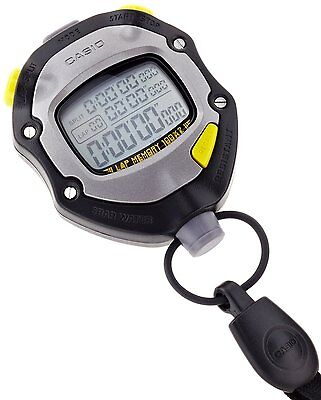 CASIO Stop Watch HS-70W-1JH Black Sports Stopwatch Japan Import Free shipping