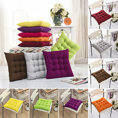 Chair Cushion Seat Pad Office Garden Patio Dining Room Outdoor Square Tie On New