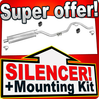 Middle Silencer OPEL VECTRA C 1.6 1.8 HATCHBACK SALOON 02-09 Exhaust Box RRB