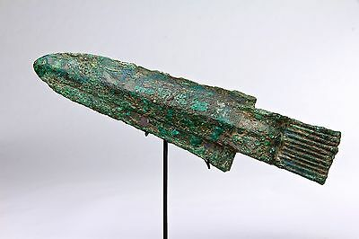 Ancient Chinese Ceremonial GE Halberd Shang Dynasty 1600 BC