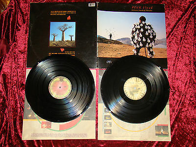 "Vinyl 12""  PINK FLOYD  DELICATE SOUND OF THUNDER 2 LP Spanish Press EMI 1988"