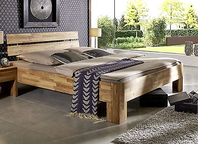 doppelbett bett 180x200cm kiefer massiv holz gebeizt ge lt. Black Bedroom Furniture Sets. Home Design Ideas
