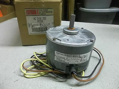 NEW Carrier Factory Authorized Parts Condenser Fan Motor HC 31GE 232 *FREE SHIP*
