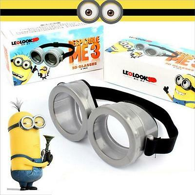 Upgrades Cute Character Minion Figures Circular Goggles Glasses Cosplay Toy Gift