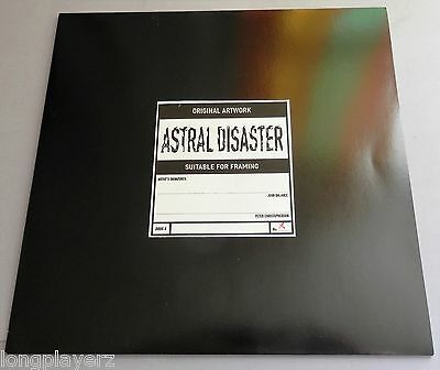 Coil - Astral Disaster 1999 Prescription Test Pressing LP - DRUG 8