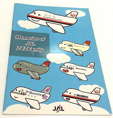 Japan import MEMORIES OF JAL 747 FAMILY Japan Airlines NOTEBOOK Premium Gift