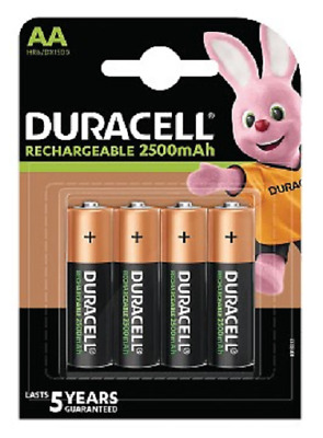 Duracell Rechargeable Duralock AA x 4 - 2400mAh/1.2V - LR06