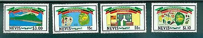CARTE - MAP NEVIS 1984 1st Independence