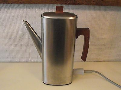 Russell Hobbs Retro Stainless Steel Electric Coffee Percolator - Model 3008
