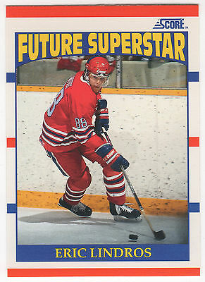 1990-91 Score #440 Eric Lindros Rookie RC