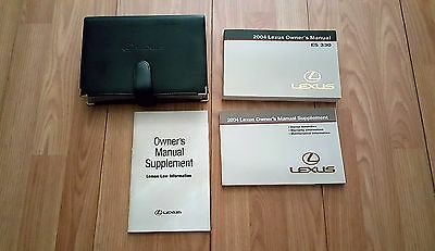 2004 Lexus ES330 Owners Manual 04042