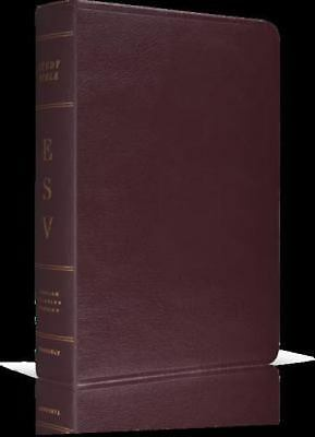 ESV STUDY BIBLE (Cowhide, Deep Brown Leather, w/FREE Access to