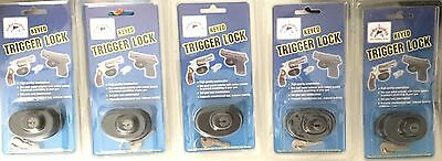 5 PEACE KEEPER KEYED TRIGGER GUN LOCK High Quality Construction