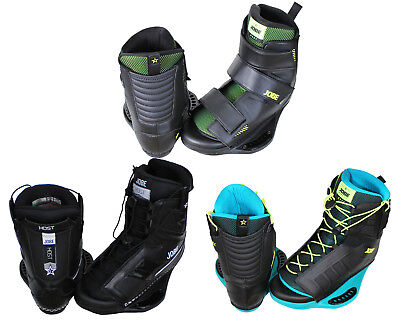 Jobe Host Mens Wakeboard Boots - Black, Blue Or Black / Green
