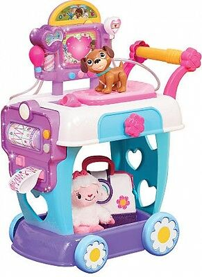 New Junior Doc McStuffins Toy Hospital Interactive And Imaginative Care Cart