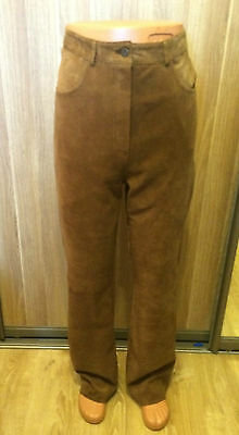 Genuine Suede Leather  Men's   Pants Trousers  size  W34 L32
