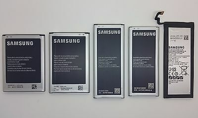 New Original Samsung Galaxy Note 2 Note 3 Note 4 Note 4 Edge Note 5 OEM Battery