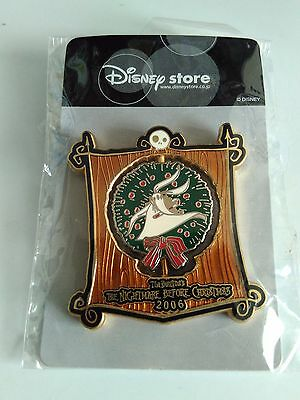 VHTF! JDS 2006 Jack Sally Zero Spinner LE 1500 Pin ( Japan Disney Dog set )