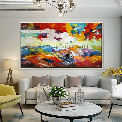 Nordic style canvas painting acrylic painting modern abstract Wall art Pictures9