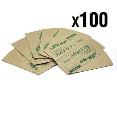 100 Synthetic Dust Bags for PACVAC Superpro 700 Duo 700 Backpack Vacuum Cleaner