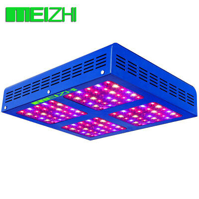 MEIZHI 600W LED Grow Light 12 Band Full Spectrum VEG BLOOM Switch Indoor Blumen