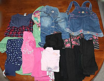 Kids Clothing Lot Mixed Size 3 To 4 And 7 To 8 15 Items Bulk Lot  Free Post