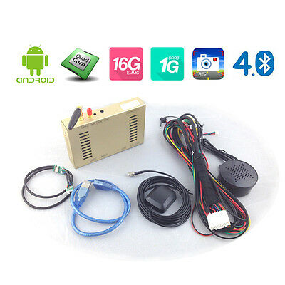 Universal new Android 4.4 GPS box 4-core Bluetooth DVR