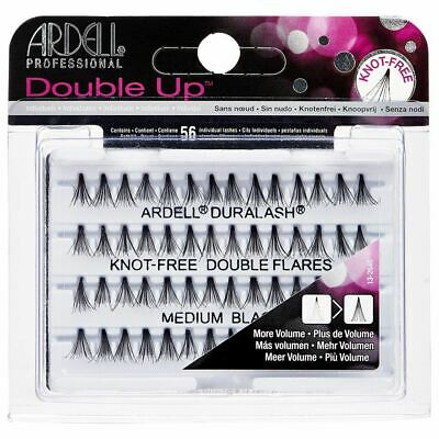 Ardell DURALASH KNOT-FREE DOUBLE FLARE INDIVIDUAL LASHES - Medium