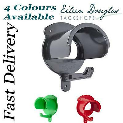 Completely Plastic Bridle Tack Storage Rounded Hook/Rack 4 colours WILL NOT RUST