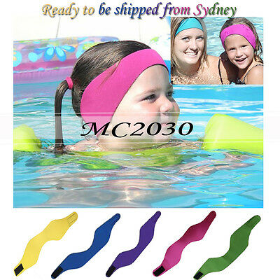 Children's Adult's Swimming Ear Head Band Neoprene Wetsuit Head Bands Swimming