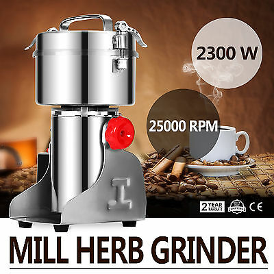 500g Electric Herb Grain Mill Grinder Household Coffee Beans High Speed NEWEST