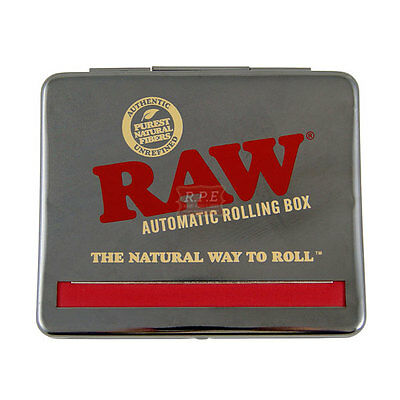 Raw Automatic Cigarette Tobacco Rolling Box 110mm - Buy 1 & 2 Rollers