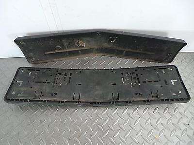 2007 MERCEDES E CLASS Front Number Plate Holder Plinth