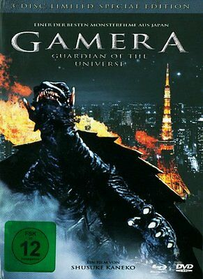 Gamera - Guardian of the Universe - Limited Edition (2-DVD+BR) * NEU & OVP