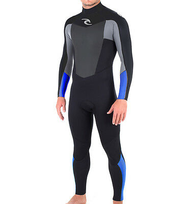 Rip Curl Omega 5/3mm Winter Wetsuit Blue  Male